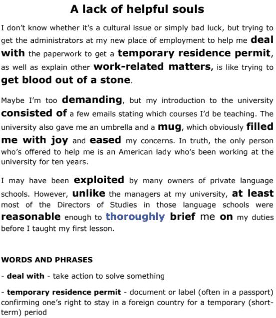 learn English through true stories